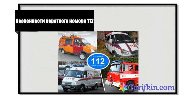 Особенности короткого номера 112