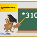Услуга Уроки русского языка